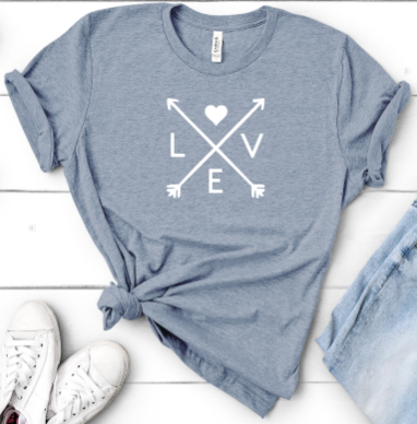 Love Arrows Tee - orangeshine.com