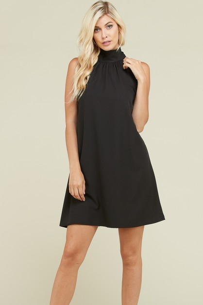 halter mini dress - orangeshine.com