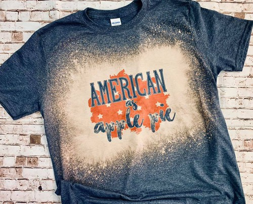 GRAPHIC TEE American As Apple Pie - orangeshine.com