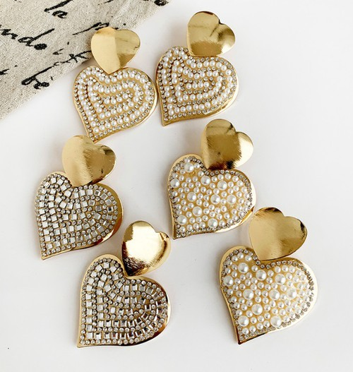 Heart Earring - orangeshine.com
