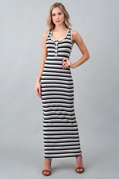 SLVLS HENRY TANK MAXI DRESS - orangeshine.com
