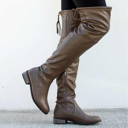 Olympia-15 Over the Knee Boot - orangeshine.com
