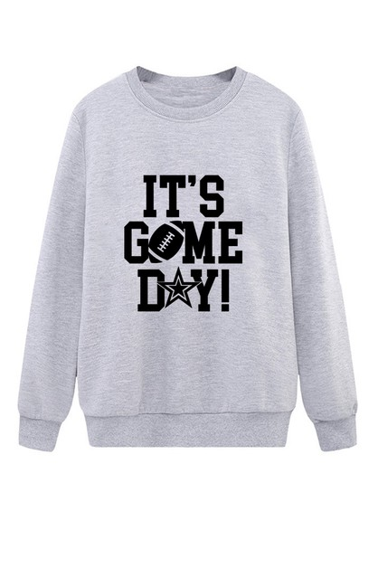 Game Day Pullover - orangeshine.com
