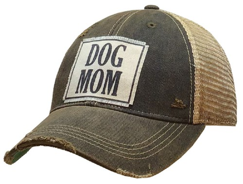 DOG MOM Trucker Hat - orangeshine.com