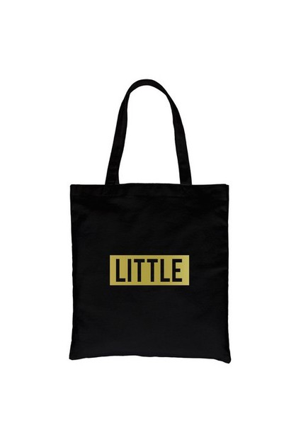 Little Boxed Gold Vinyl Canvas Bag - orangeshine.com
