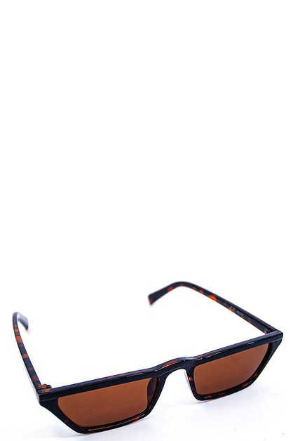 FASHION COLOR SLIM SUNGLASSES - orangeshine.com