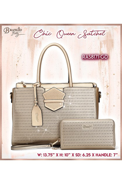 Chic Queen Handmade Medium Satchel - orangeshine.com