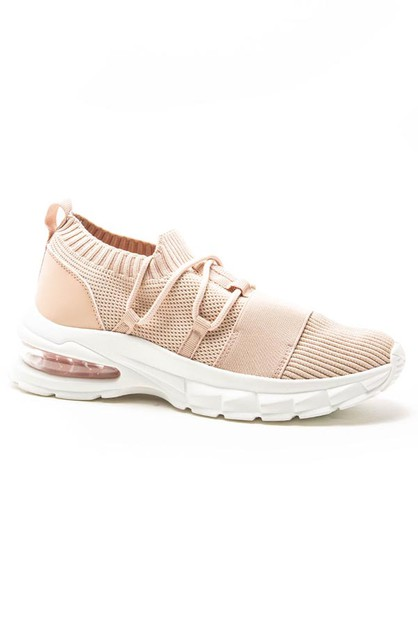 White Platform Chunky Dad Sneakers - orangeshine.com