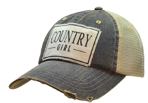 Country Girl Trucker Cap - orangeshine.com