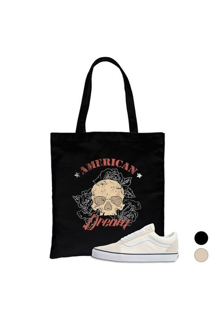 American Dream Canvas Bag - orangeshine.com