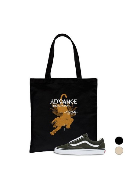 Advance The Kingdom Canvas Bag - orangeshine.com