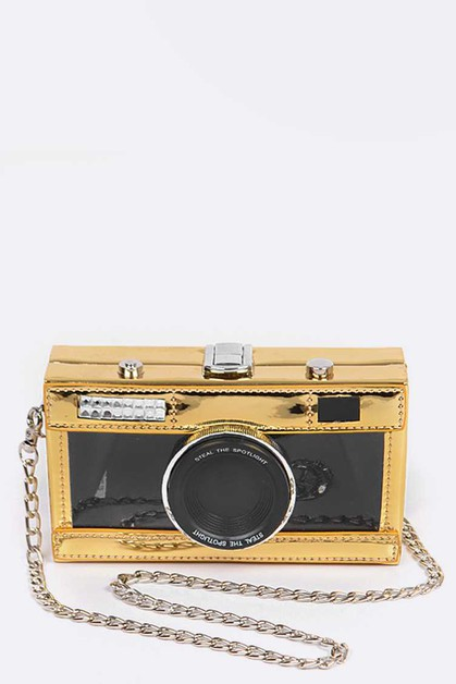 Iconic Camera Box Clutch Swing Bag - orangeshine.com