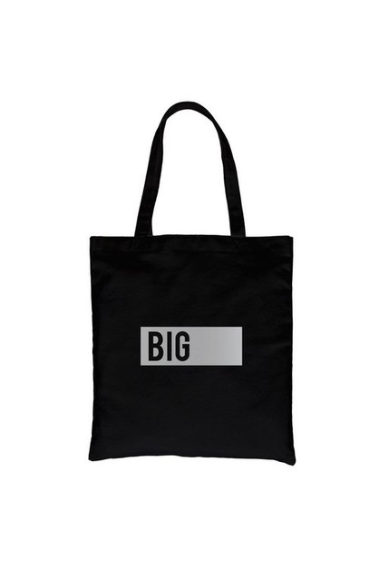 Big Boxed Silver Vinyl Canvas Bag - orangeshine.com