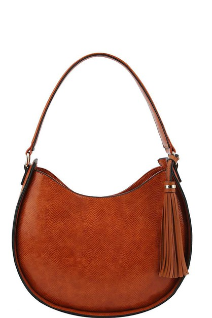 STYLISH TASSEL SHOULDER HOBO BAG - orangeshine.com