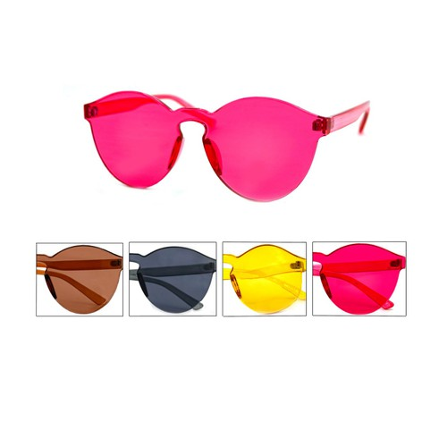 One Piece Rimless Sunglasses - orangeshine.com