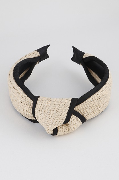 Knotted Knit Head Band - orangeshine.com