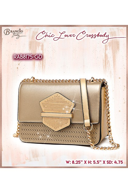 Chic Lover Handmade Crossbody Bag - orangeshine.com