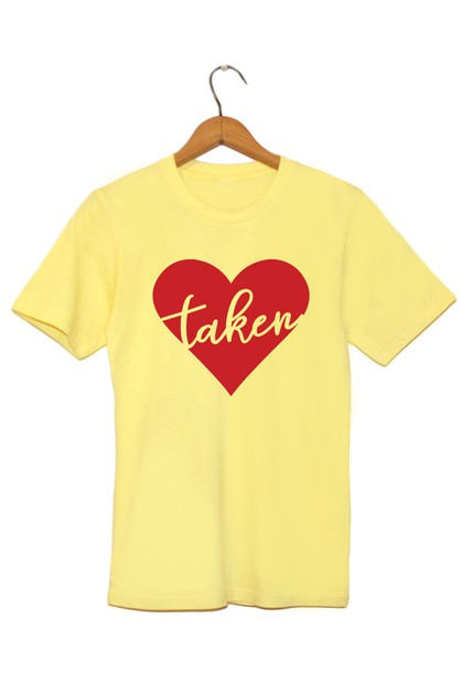 Taken Printed Graphic Tee - orangeshine.com
