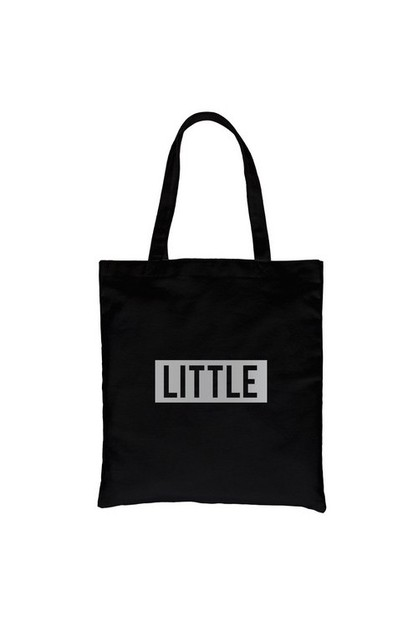 Little Boxed Silver Vinyl Canvas Bag - orangeshine.com