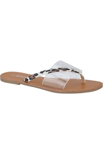 Women Flat Cross Slipper - orangeshine.com