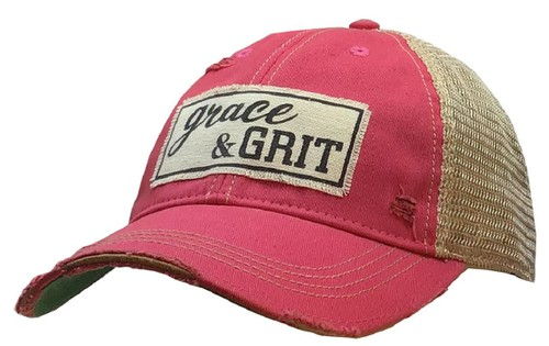 Grace and Grit Trucker Cap - orangeshine.com