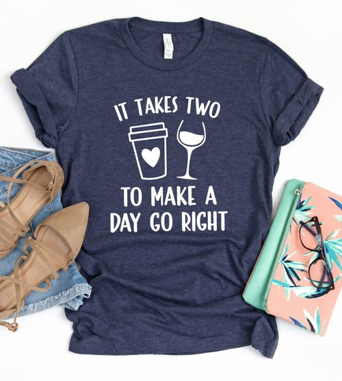 It Takes Two To Make a Day Go Right - orangeshine.com