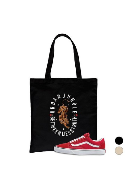 Urban Jungle Canvas Bag - orangeshine.com