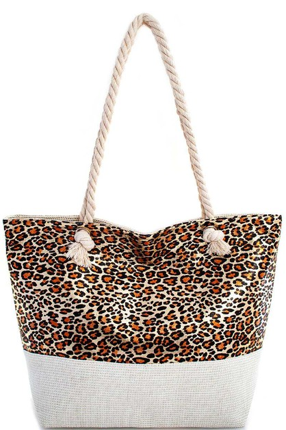 TWO TONE GLITTER WOVEN SHOPPER - orangeshine.com