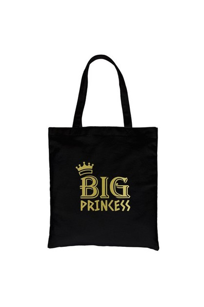 Big Princess Gold Vinyl Canvas Bag - orangeshine.com