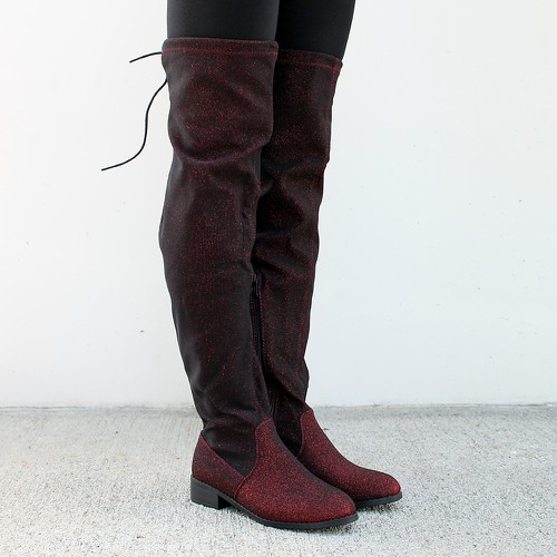 Olympia-16 Over the Knee Boots - orangeshine.com