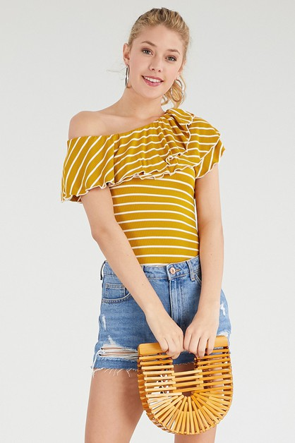 Women stripe top - orangeshine.com