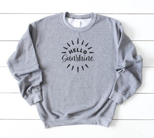 HELLO SUNSHINE SWEATSHIRT - orangeshine.com