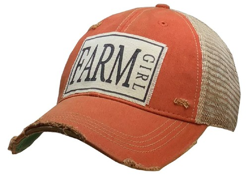 Farm Girl Trucker Hat - orangeshine.com