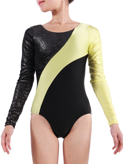STAR LONG SLEEVE LEOTARD - orangeshine.com