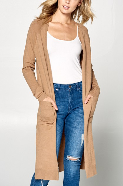 Women casual cardigan - orangeshine.com