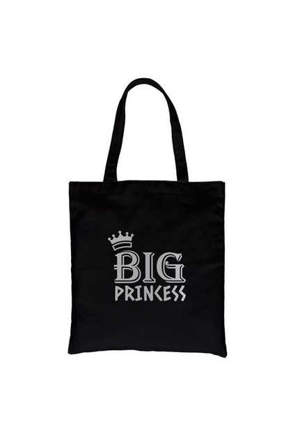 Big Princess Silver Vinyl Canvas Bag - orangeshine.com