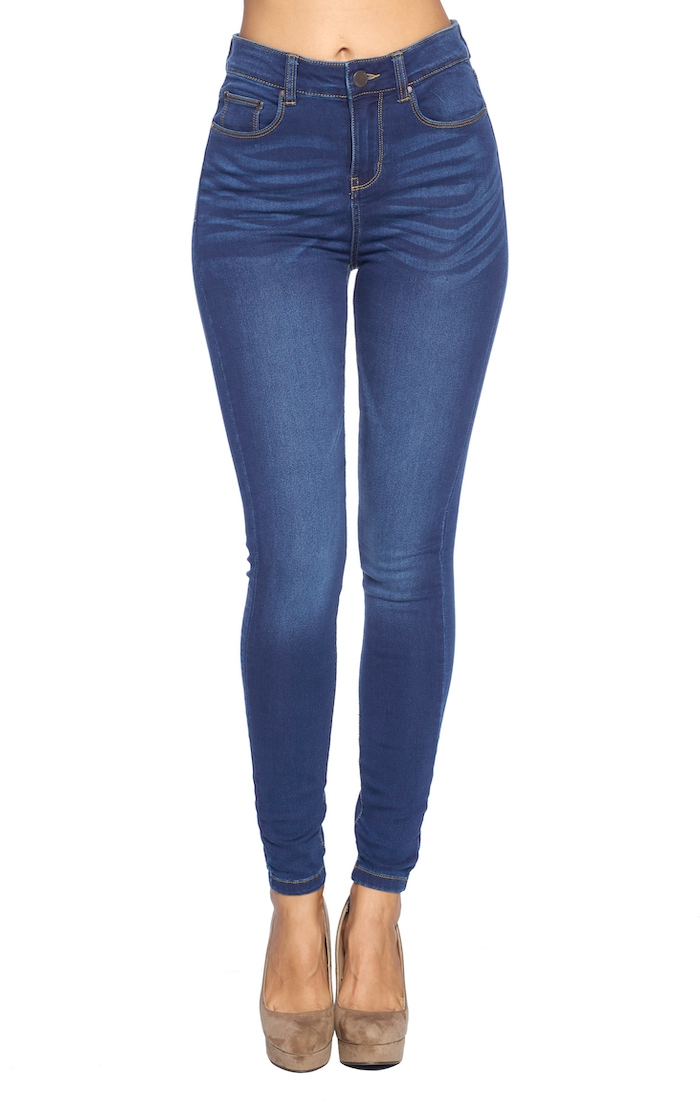 Skinny Jeans High Waisted - orangeshine.com