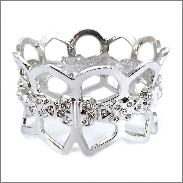 CROWN HINGE BANGLE BRACELETS - orangeshine.com