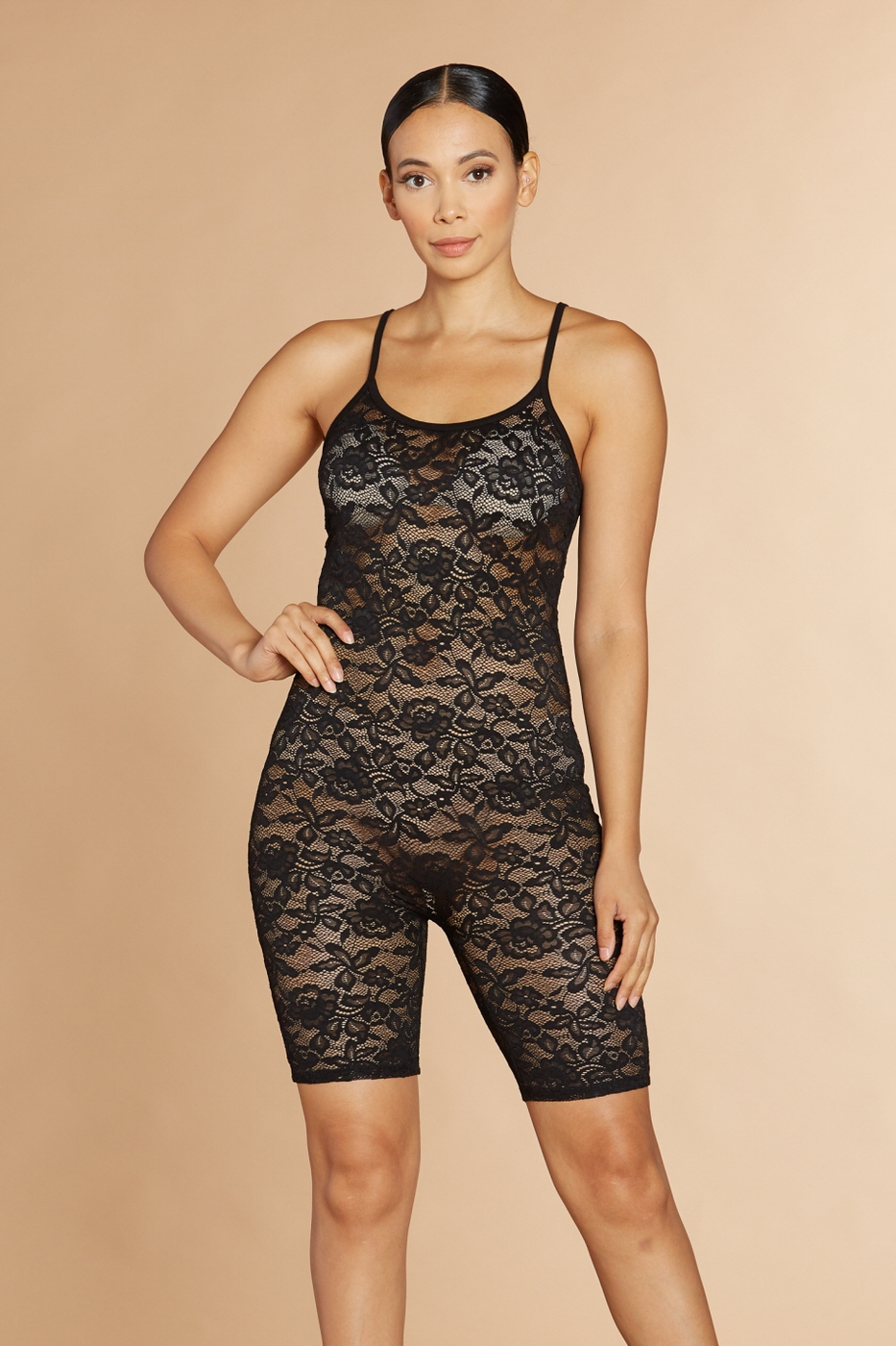 Dynasty Lace Catsuit - orangeshine.com