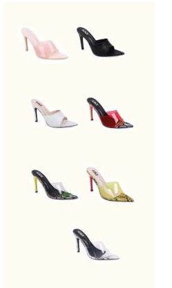 7 COLORS HIGH HEELS - orangeshine.com
