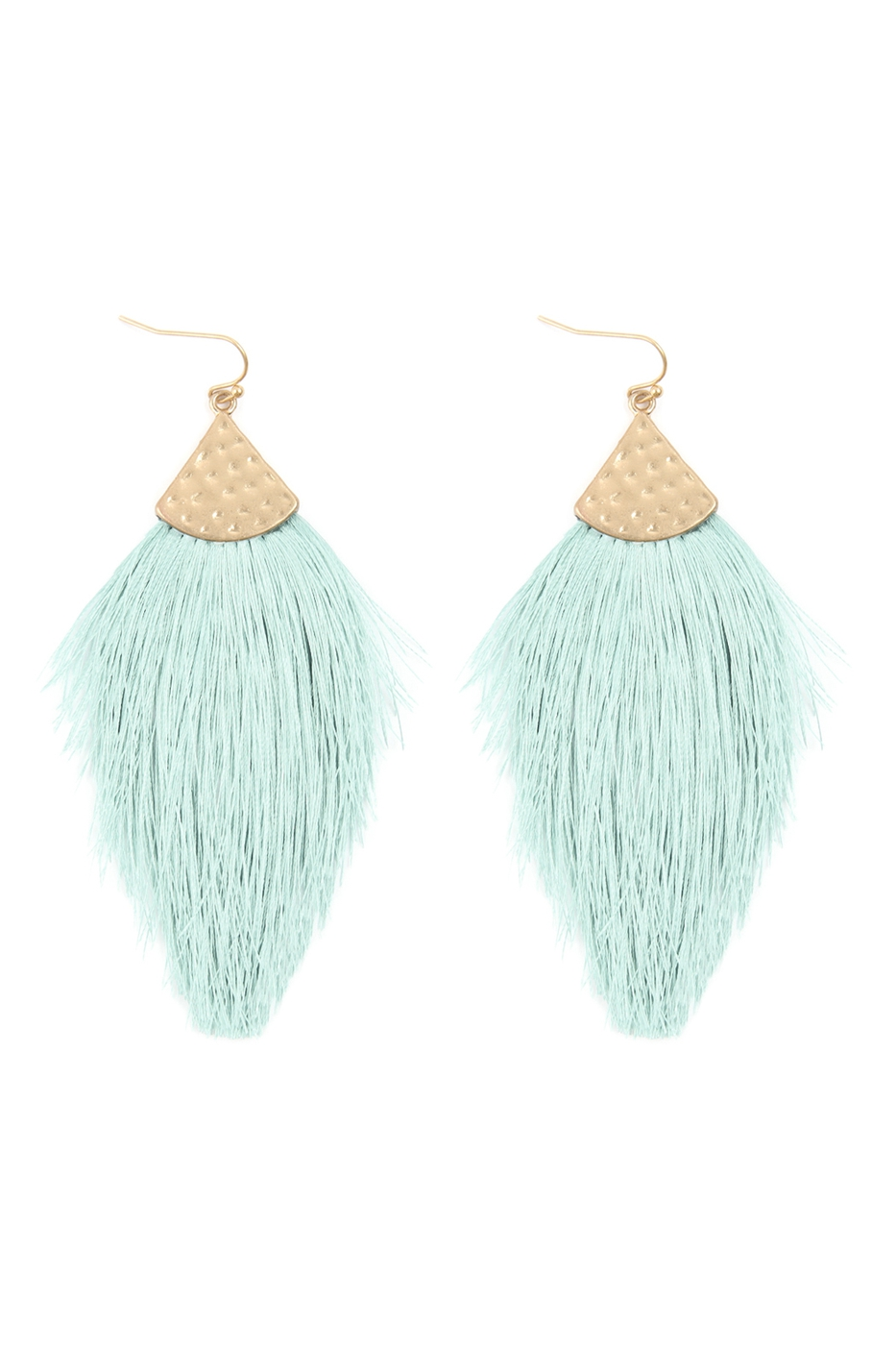 THREAD TASSEL DROP EARRING - orangeshine.com