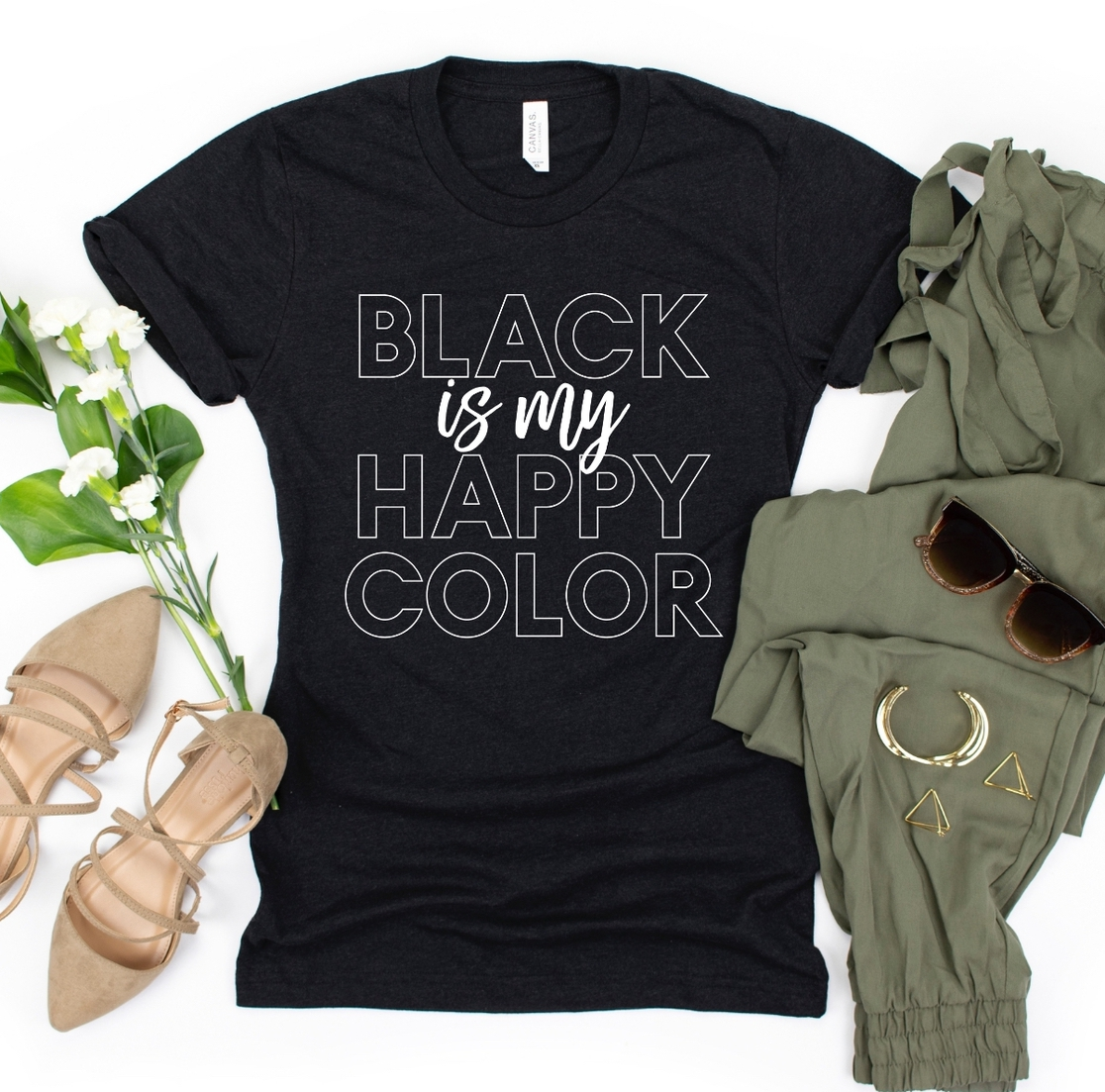 Black is My Happy Color - orangeshine.com