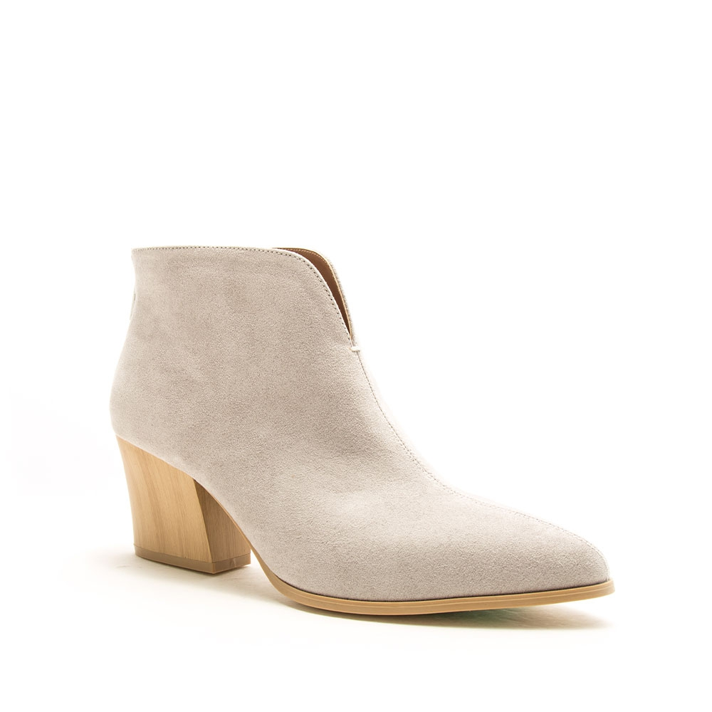 LADIES BACK ZIPPER BOOTIES - orangeshine.com