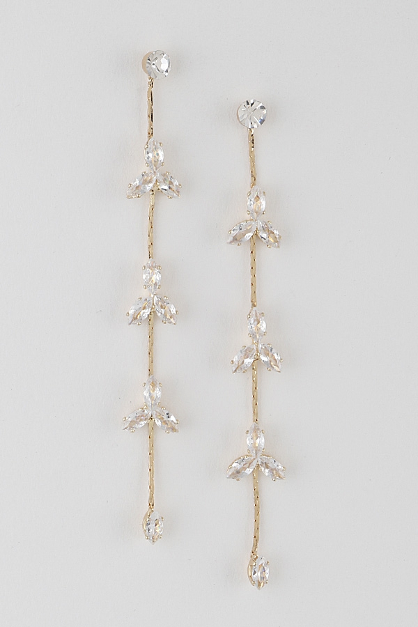 Flower Shower Drop Earrings - orangeshine.com