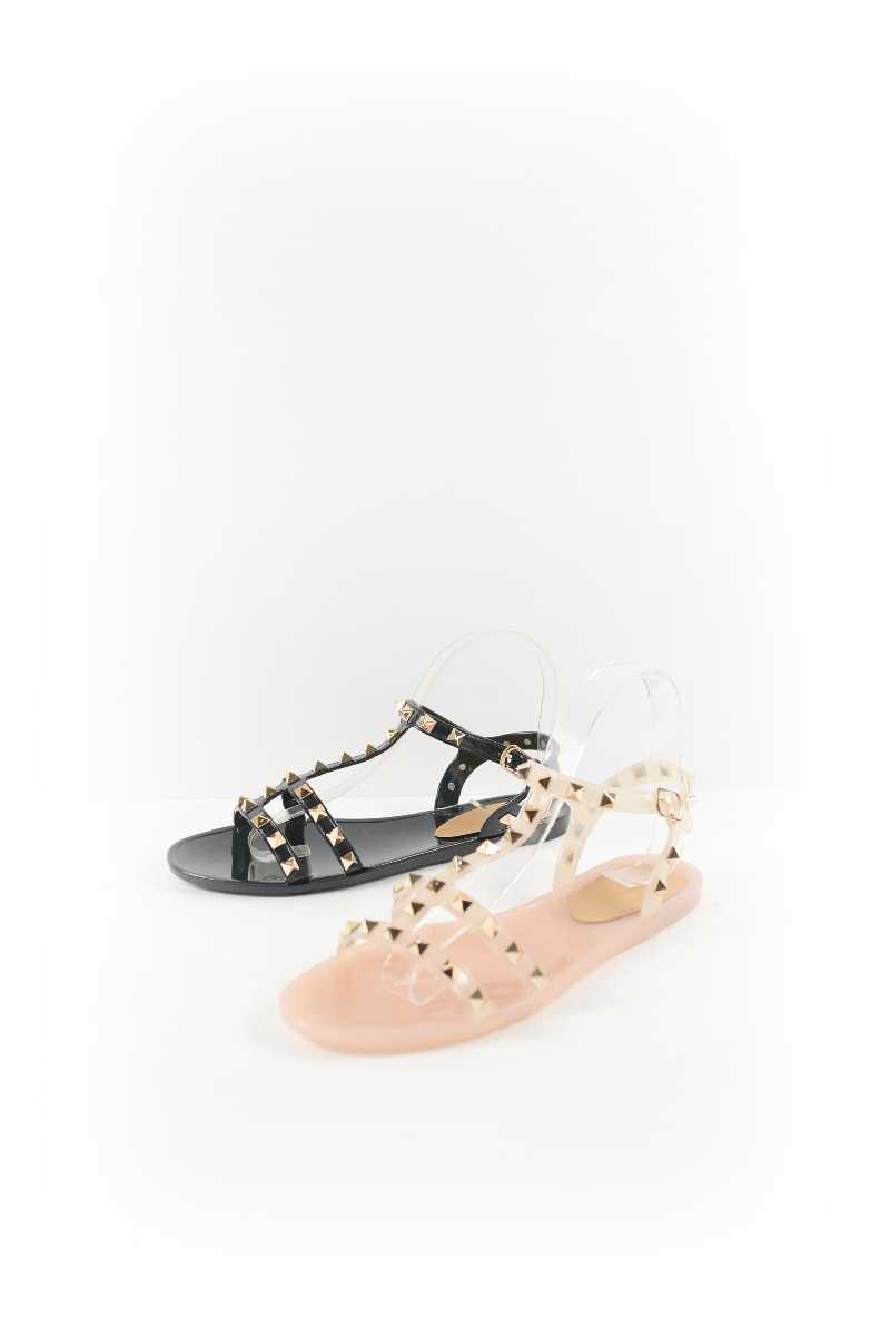 Women Stud-Accent Sandal - orangeshine.com