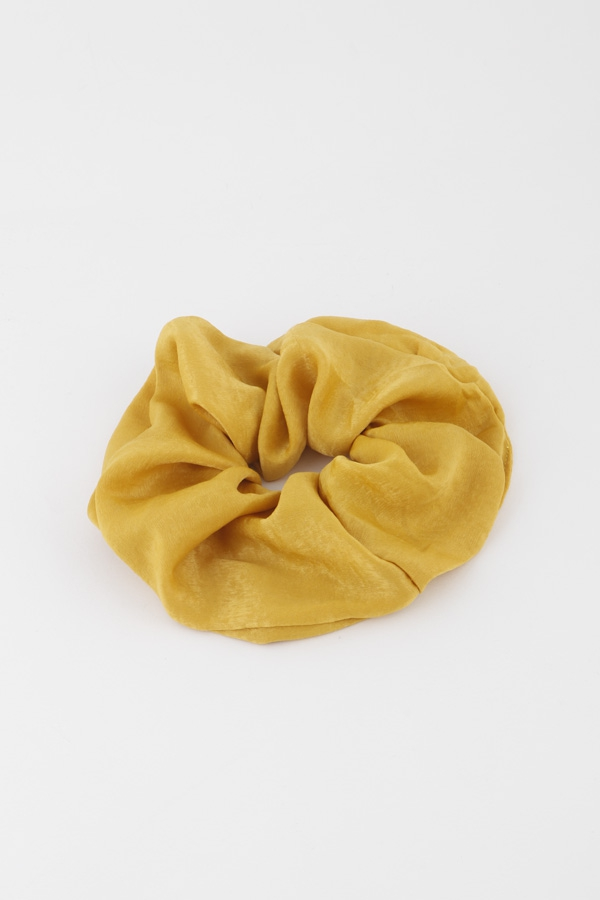 Monotone Silk Fabric Hair Tie - orangeshine.com