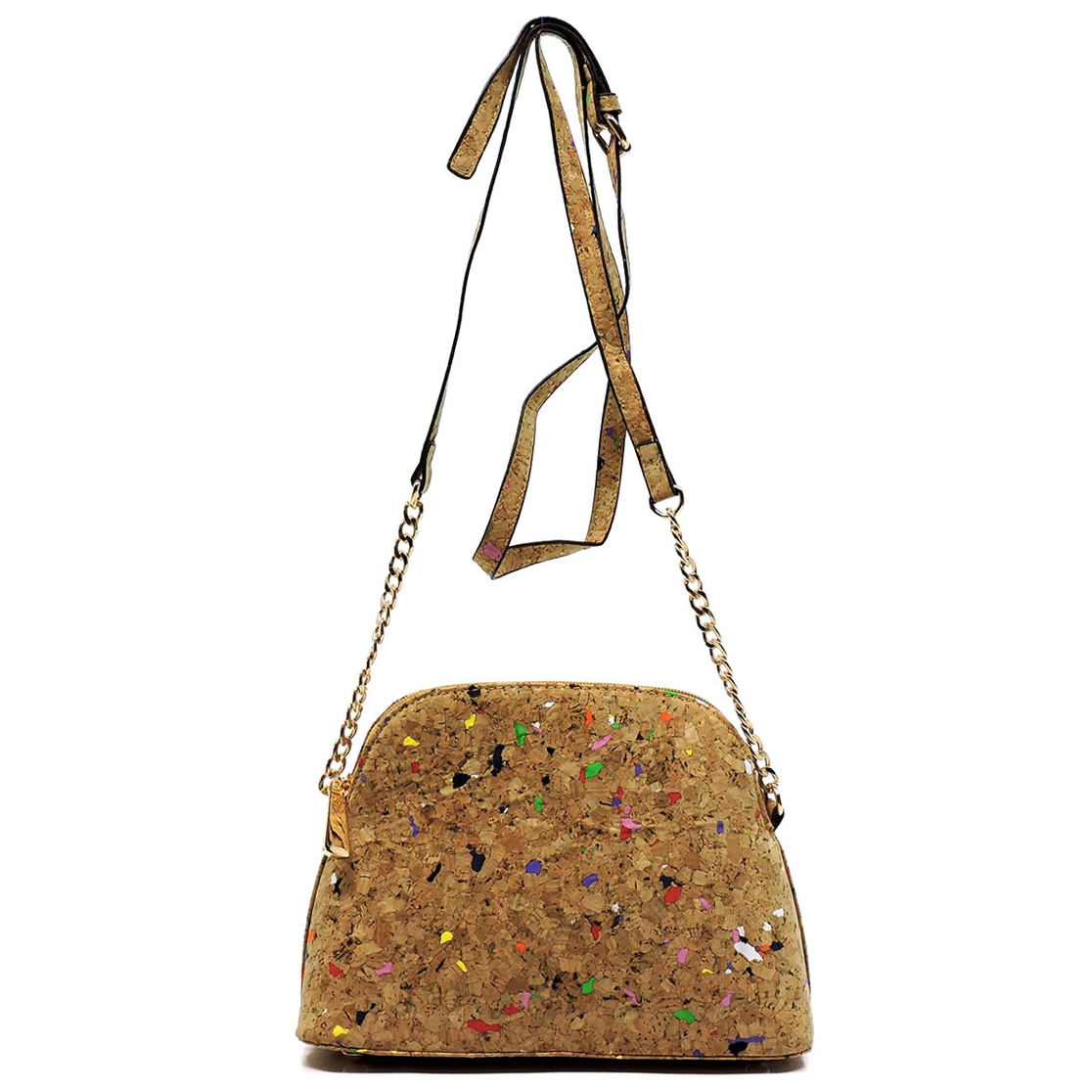 Cork Dome Cross Body Bag - orangeshine.com