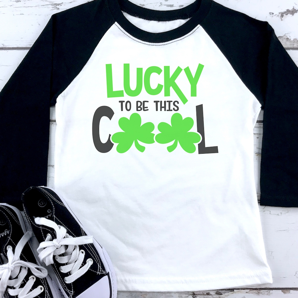 YOUTH St Patricks Day Lucky To Cool - orangeshine.com