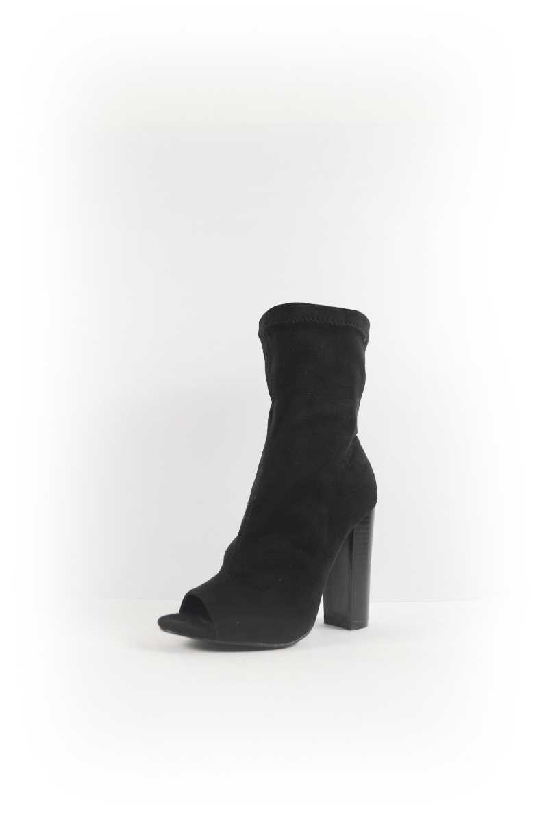 ZIPPER OPEN TOE BOOTIES - orangeshine.com