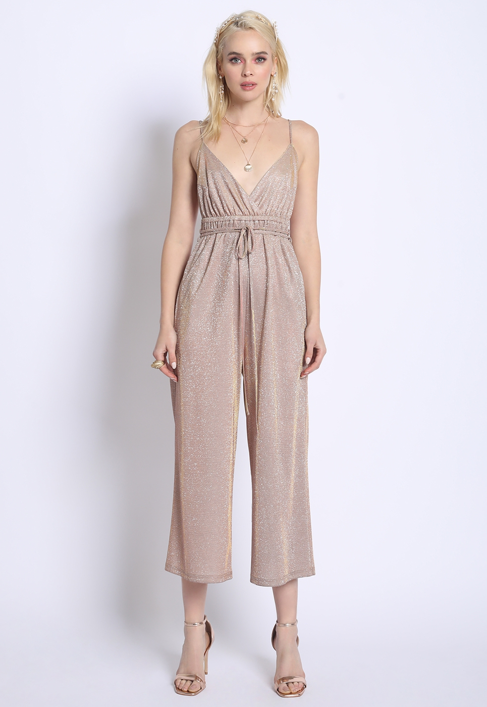 TWO TONE JUMPSUIT - orangeshine.com